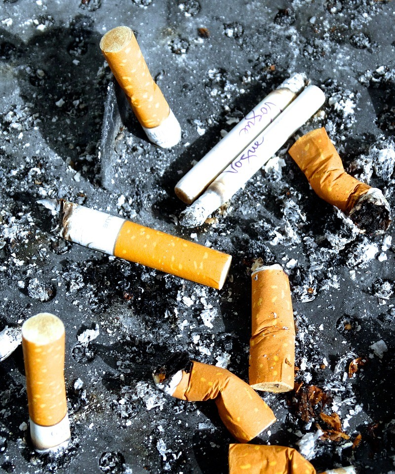 Niesłychanie bez liku jednostkek uzalewżnionych jest od palenia petów